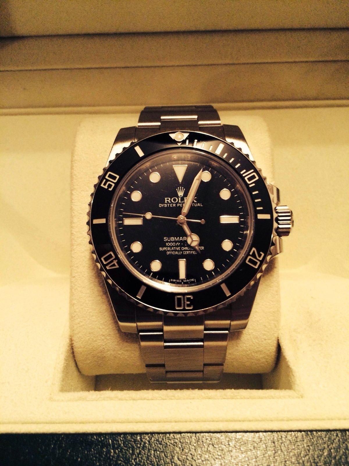 [Erledigt] Rolex 114060 Lc 100 3/13 - UhrForum