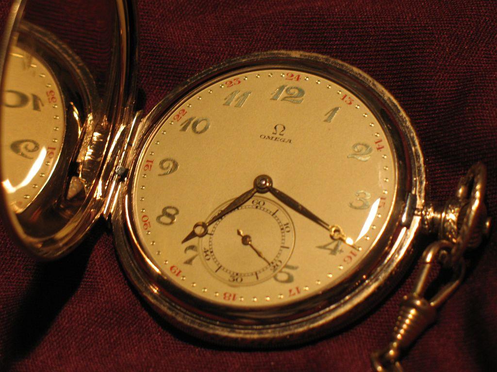 Uhrenbestimmung Omega Taschenuhr Alter und Wert? UhrForum