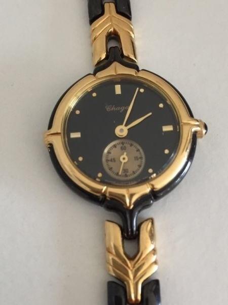 Damenuhren schwarz gold  Erledigt] Chagal Damenuhr - Schwarz/Gold - 22mm - UhrForum