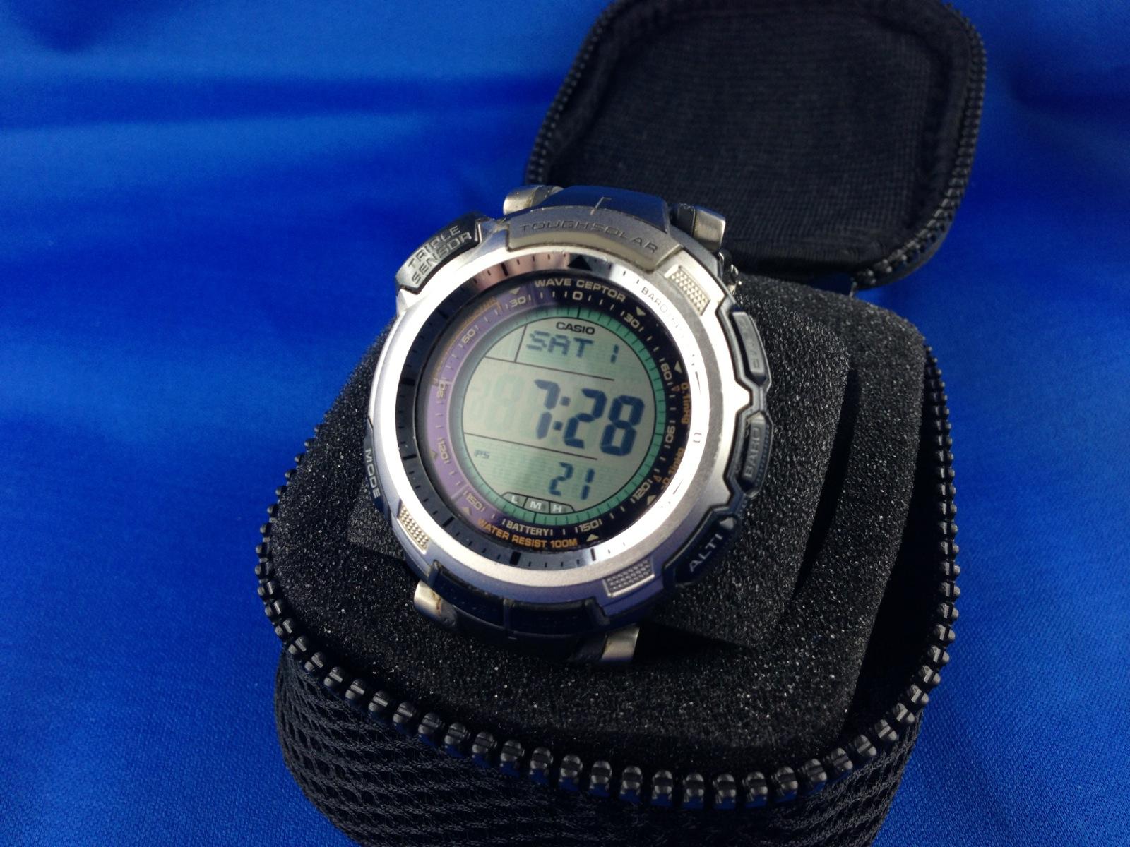Erledigt Casio Pro Trek Prw 1300t 7ver Protrek Prg 280 2 Original Img 0230