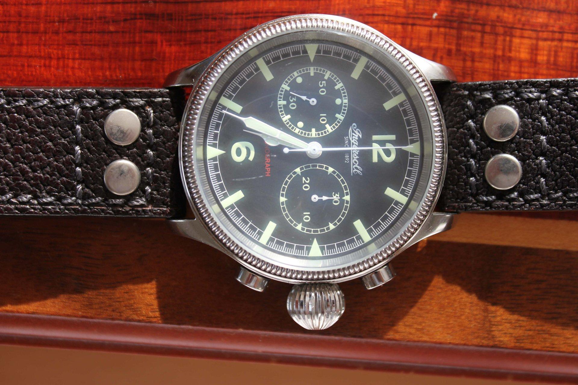 Erledigt] Ingersoll Wells Fargo Chronograph - UhrForum