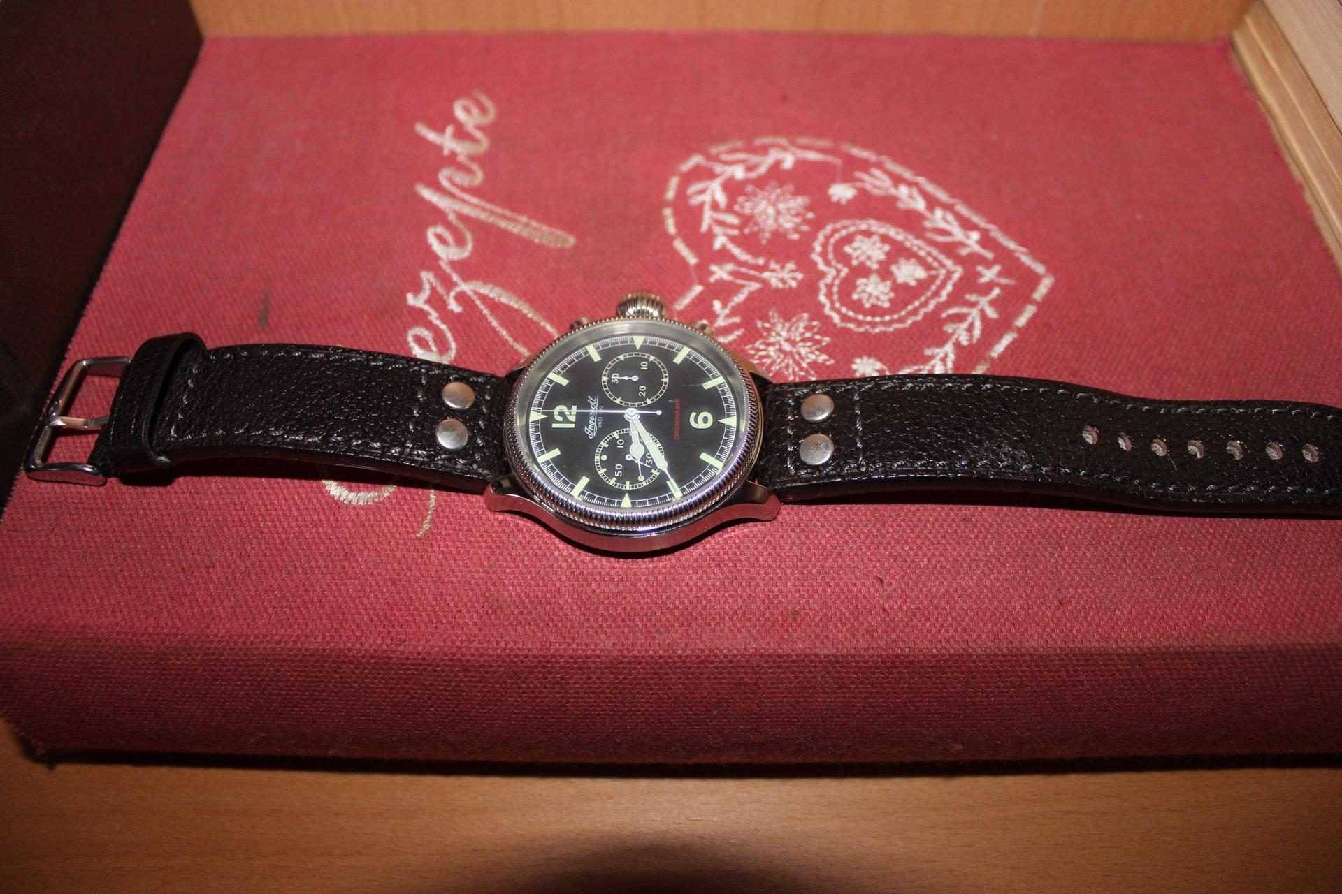 Verkauf] Ingersoll Wells Fargo Chronograph - UhrForum
