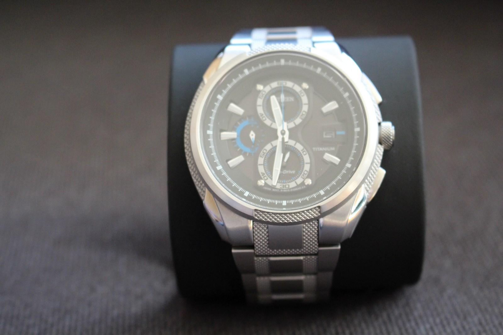 verkauf citizen titanium chrono eco drive ca0200