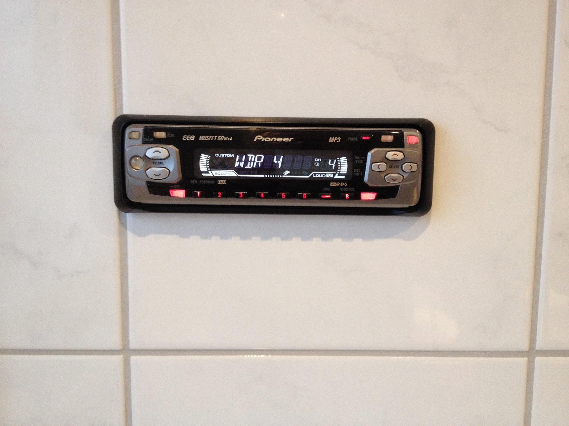 Badezimmer radio retro inspiration f r for Badezimmer radio design