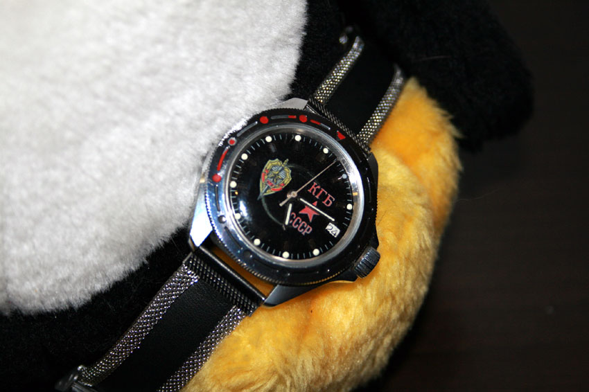 884f07a9 Часы Восток Командирские Агент КГБ (с автоподзаводом) 2416164/921945.  Наличие на складе