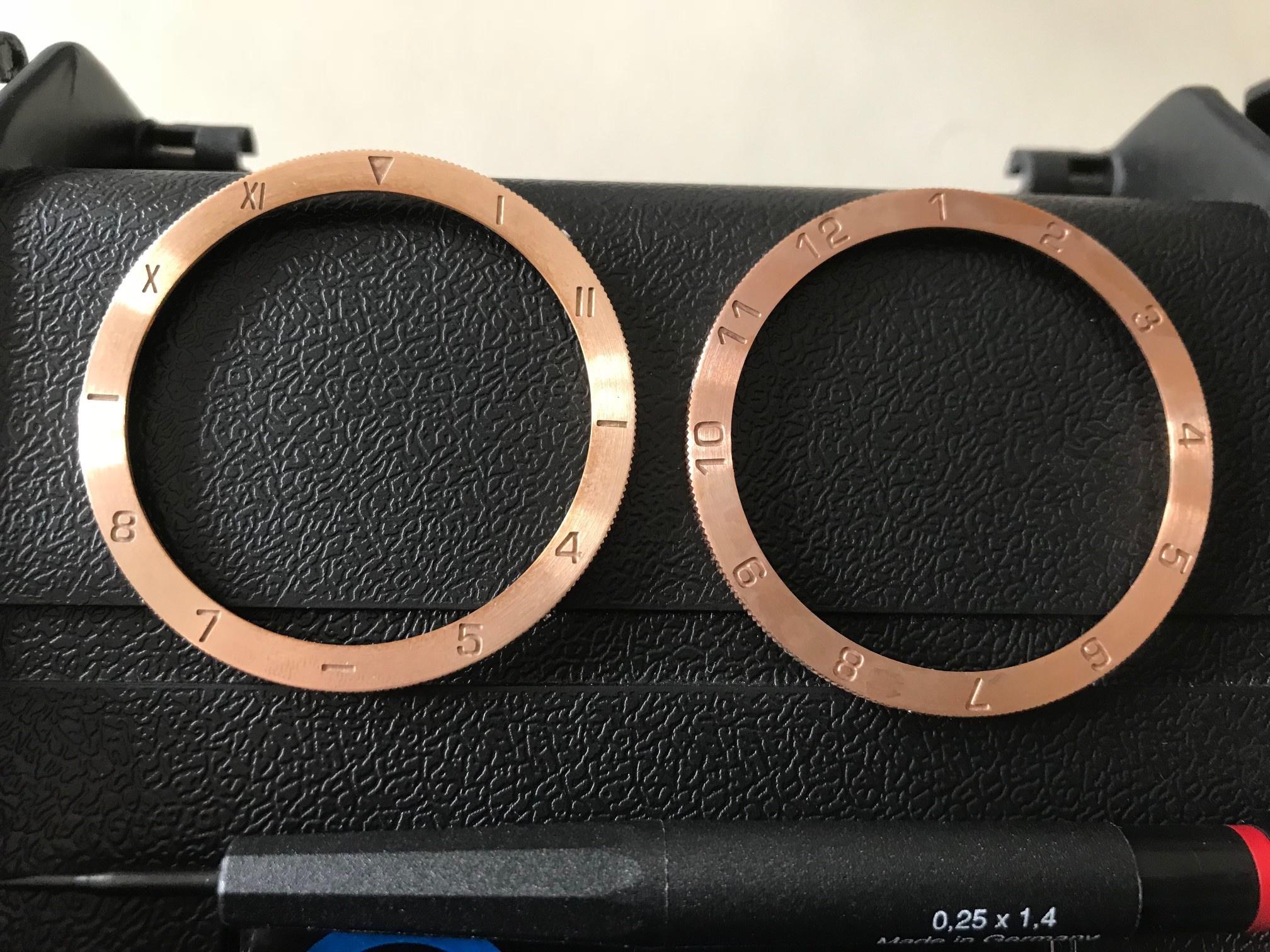 Erledigt] H2o Hydra Bronze Unitas 2 Bänder , 3 Lünetten Full Set ...