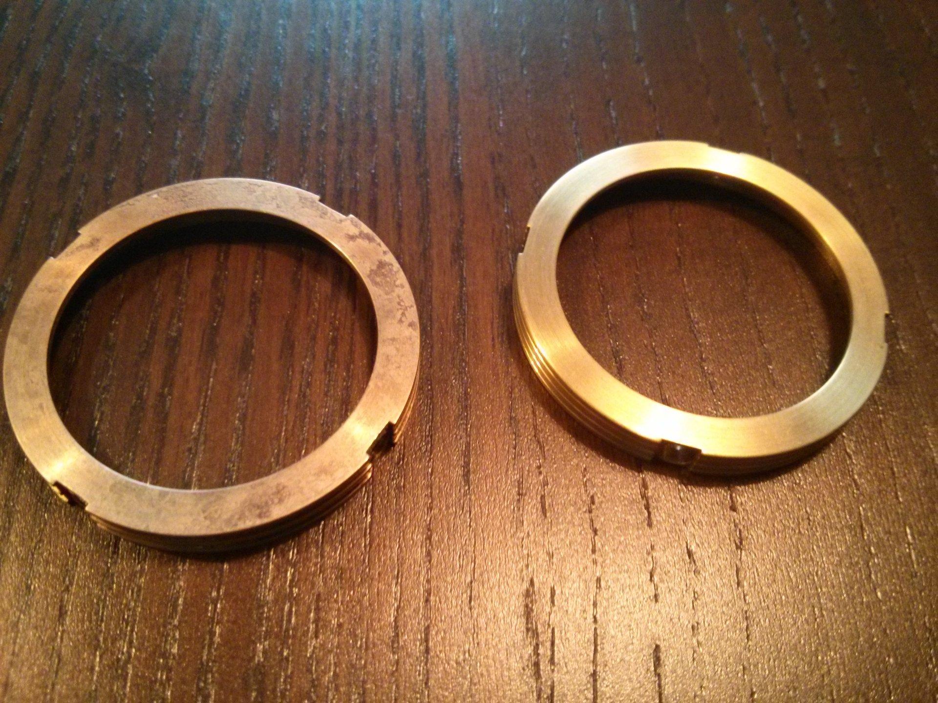 Erledigt] Lünetten in Bronze für die Steinhart Apollon - UhrForum