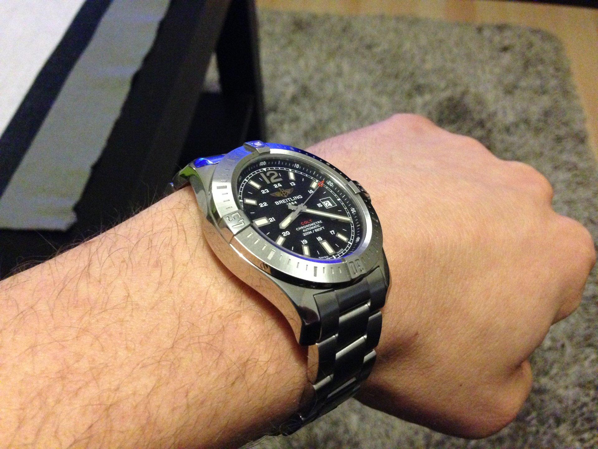 77a796cd Breitling colt 44 :: Швейцарские часы в новосибирске