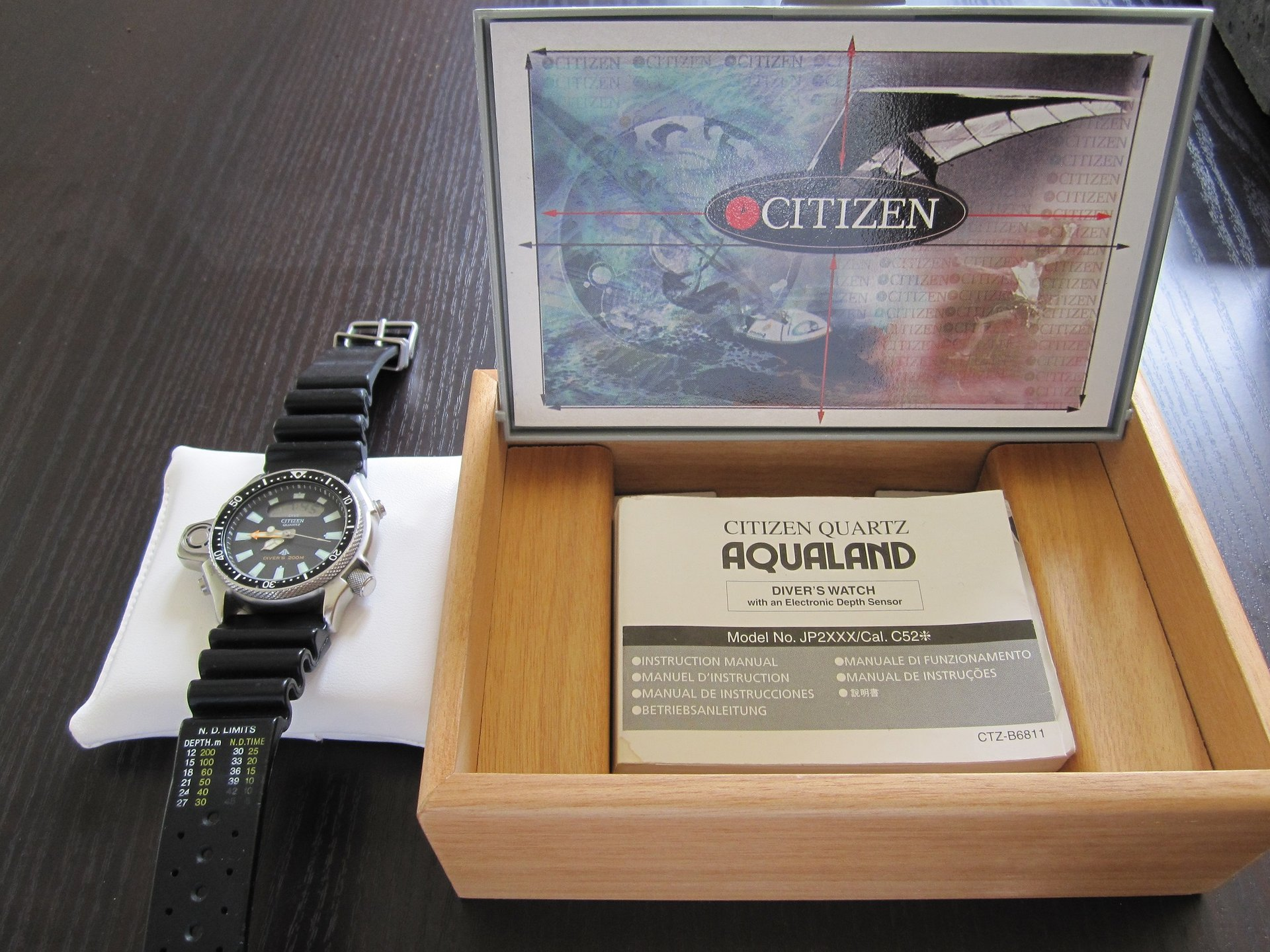 prezzo citizen aqualand 1 jp2000-08e