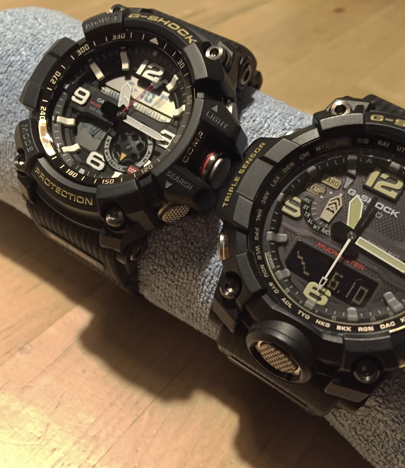 Casio G Shock Gwg 1000 Mudmaster 2015 Vs Gg Light 1a Img 2502