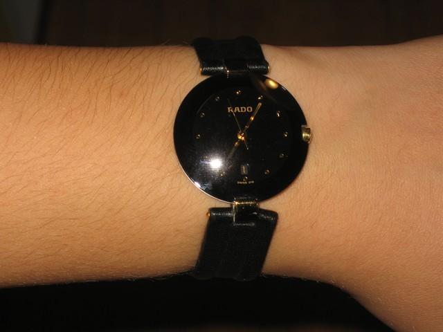 verkauf verkaufe rado damen armbanduhr uhrforum. Black Bedroom Furniture Sets. Home Design Ideas
