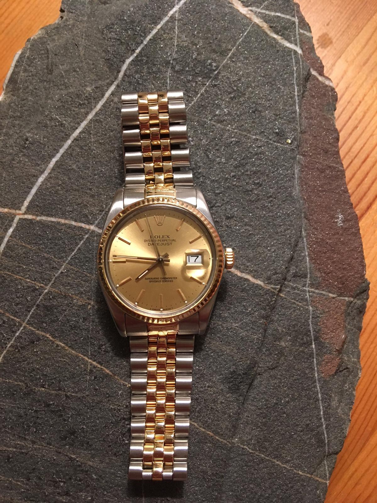 Meine Erste Vintage Rolex Datejust 16013