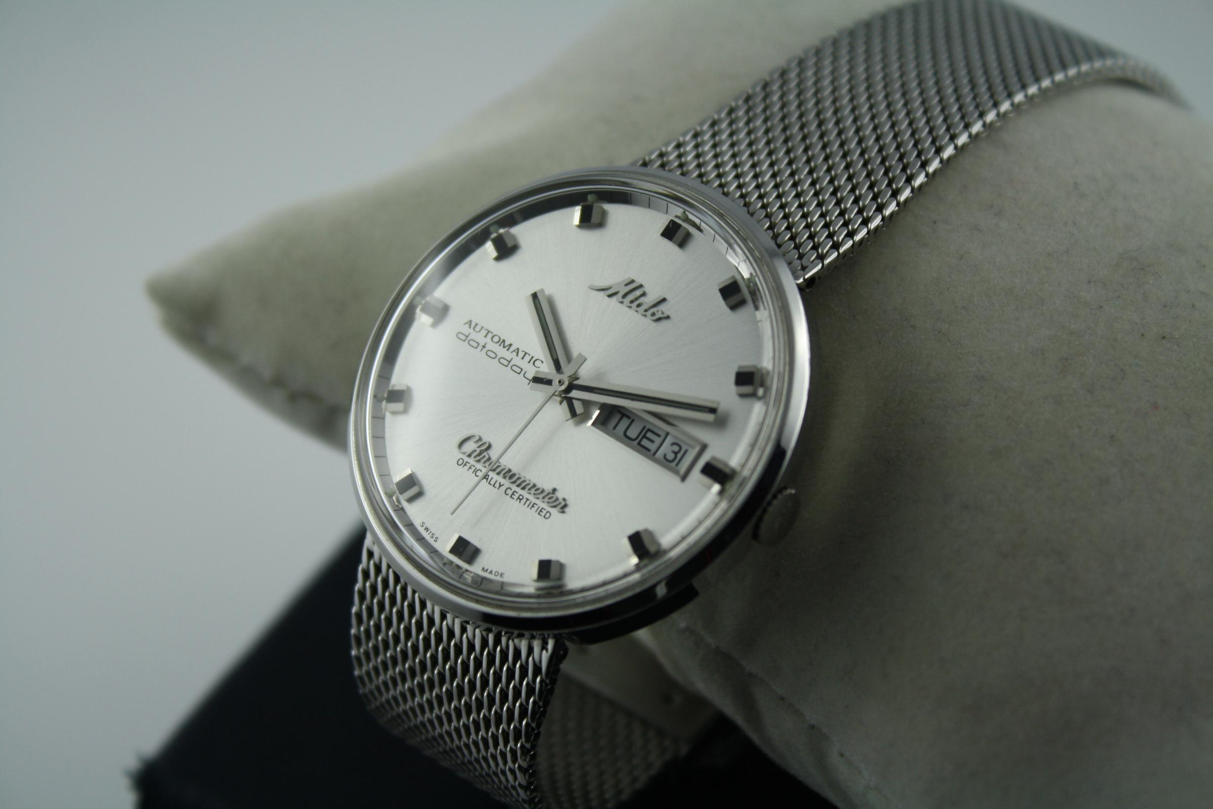 76b4dac89fb Erledigt  - Mido Ocean Star Datoday Commander Chronometer Full Set