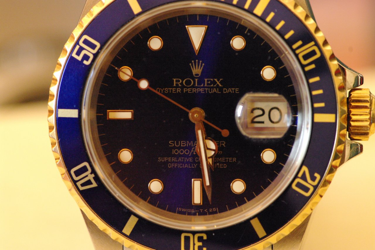 rolex submariner 11613 stahl gold blau uhrforum. Black Bedroom Furniture Sets. Home Design Ideas