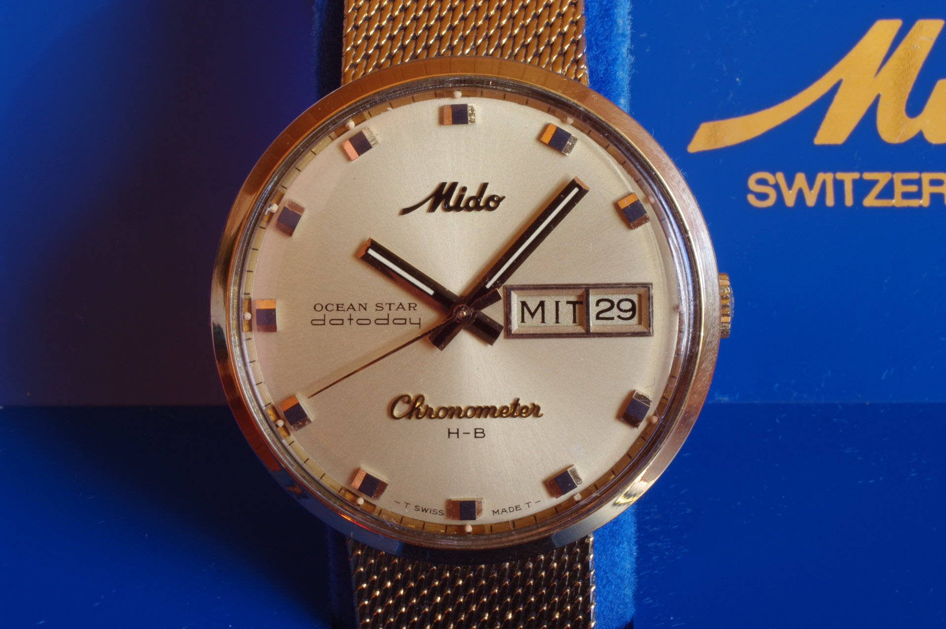 6ab5a7f626c Erledigt  - Mido Ocean Star Chronometer H-B Vintage