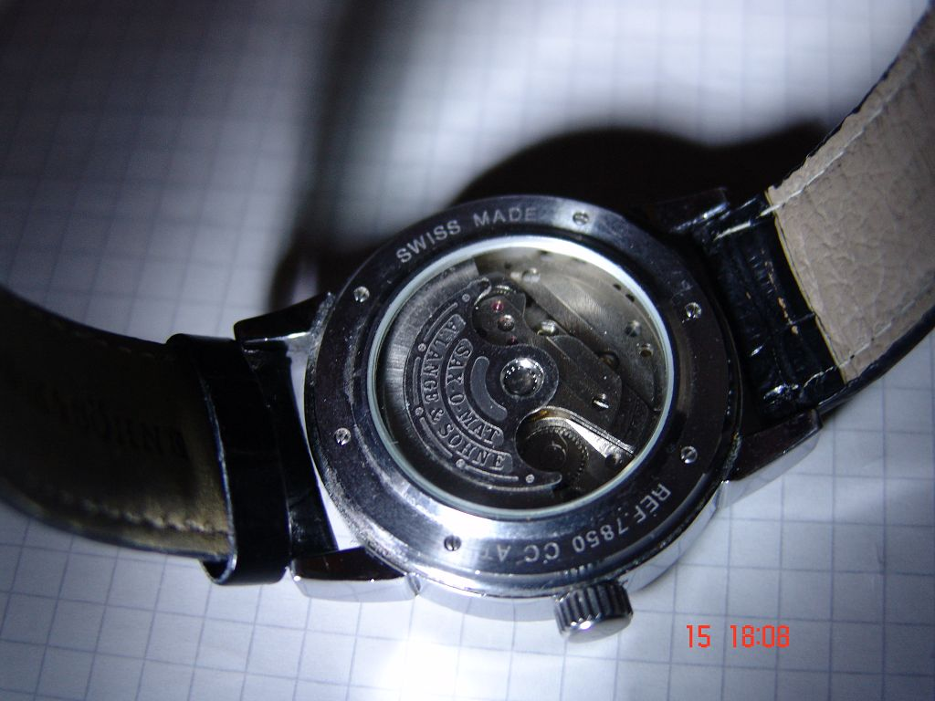 Uhrenbestimmung A Lange Amp S 246 Hne Herrenuhr Kann Mir Bitte