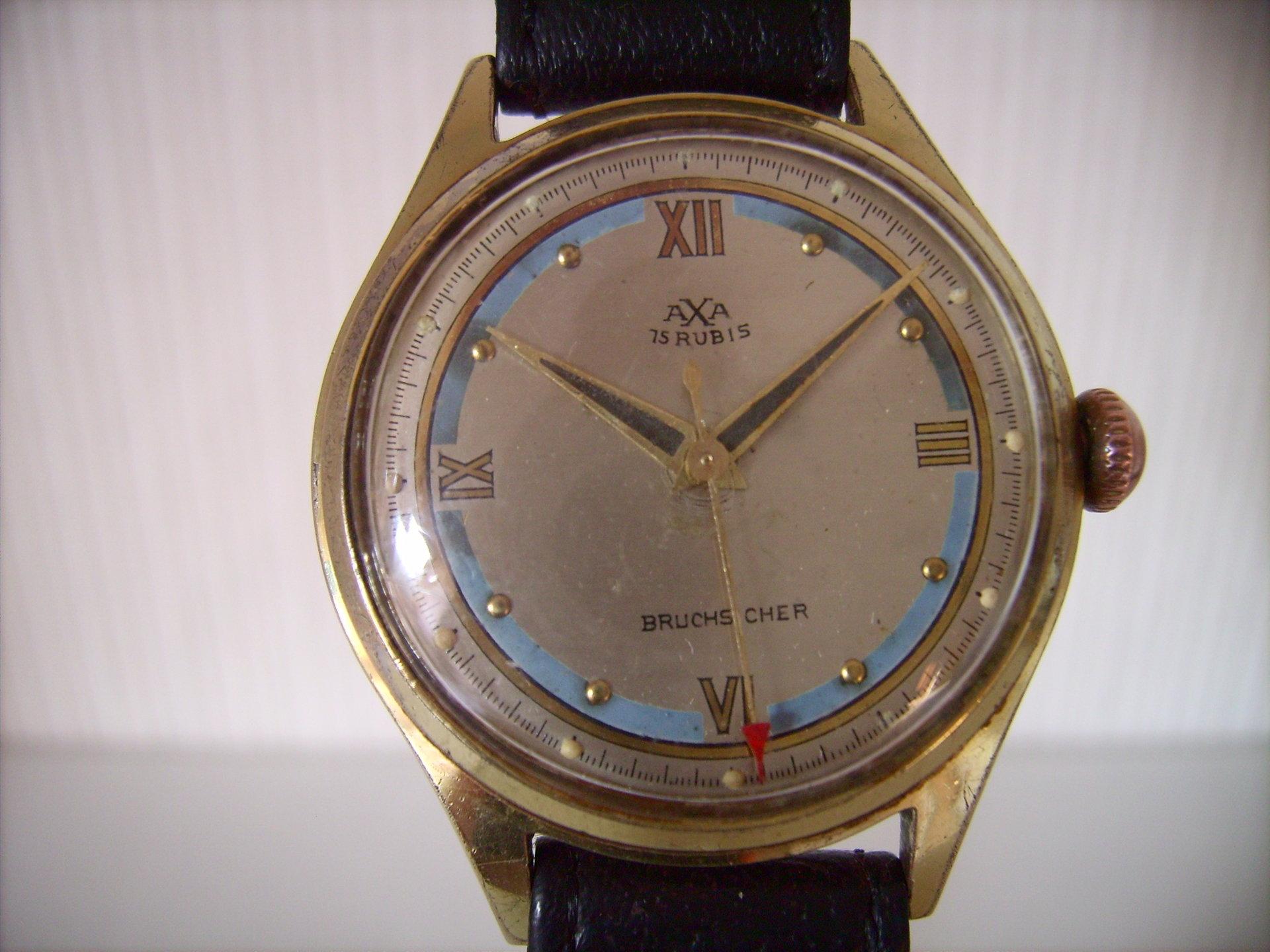 Erledigt axa herren vintage watch aus den 40er jahren for Mobel aus den 40er jahren