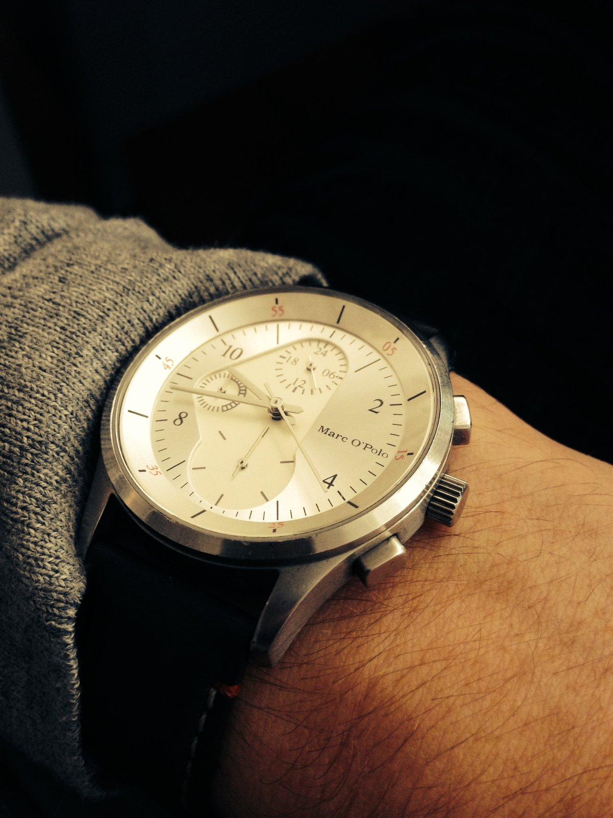 Armbanduhr am arm  Uhrenvorstellung: Marco Polo & Fossil - UhrForum