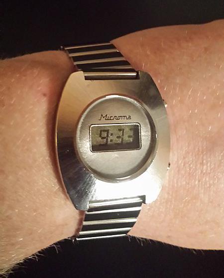 Zeigt Eure Vintage LCD Uhren | Seite 35