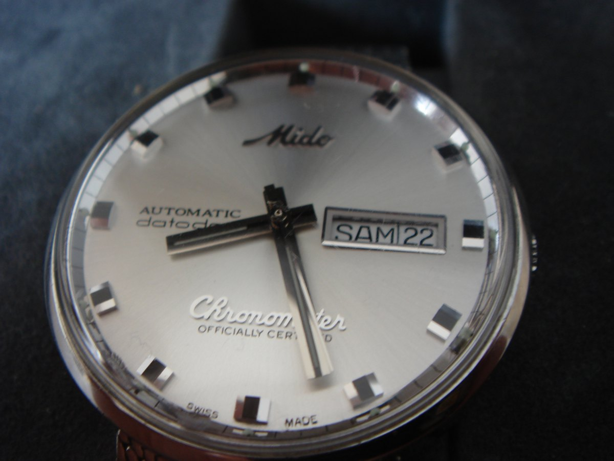 9202cacbc38 Erledigt  - Mido Ocean Star Datoday Chronometer