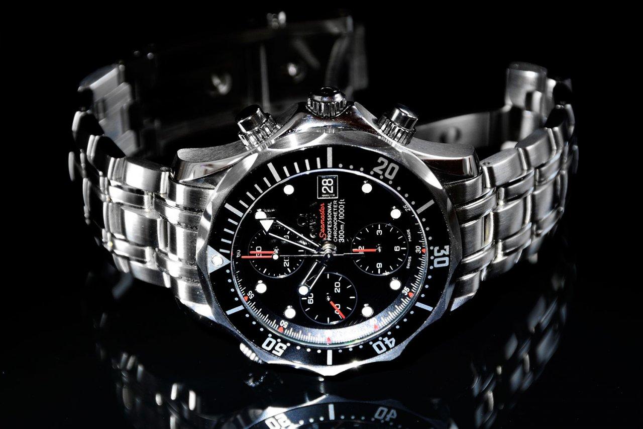 Omega seamaster chrono diver james bond chrono uhrforum for Omega diver