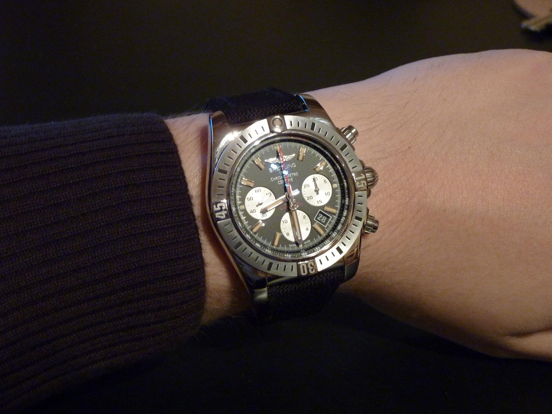Rolex 24 Daytona >> Breitling Chronomat 44 Airborne - UhrForum