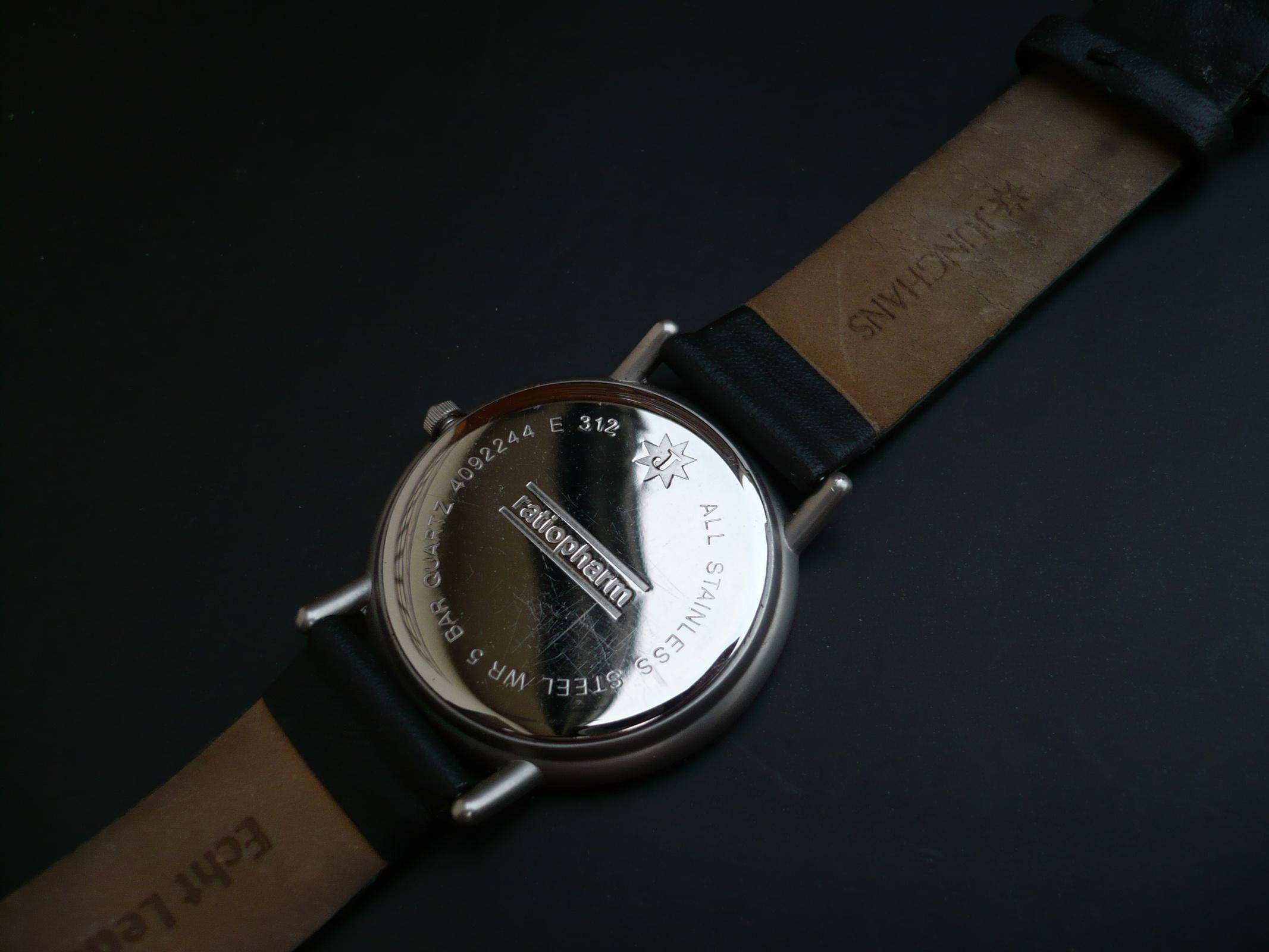 Verkauf] Junghans Quarz Herrenarmbanduhr
