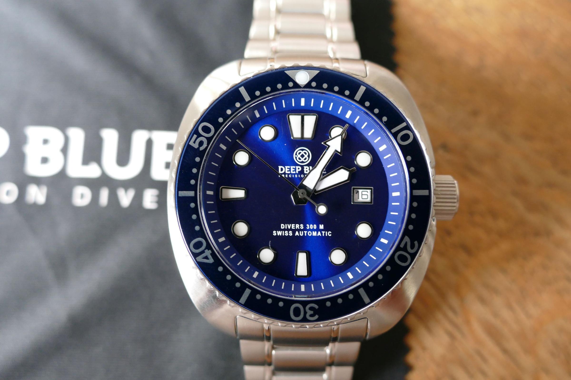 Erledigt deep blue military diver 300 blau uhrforum - Dive deep blue ...