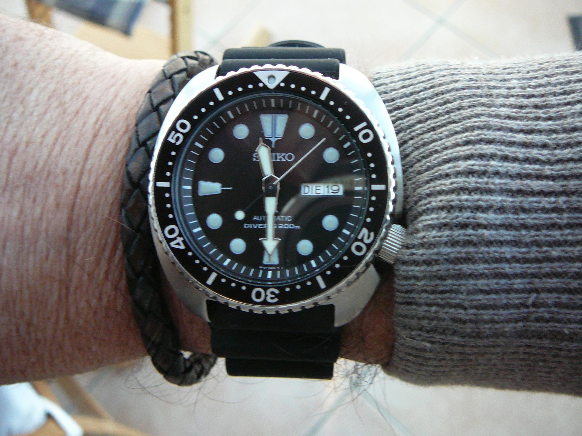 Erledigt Seiko Srp777 X Turtle Schwarz Uhrforum