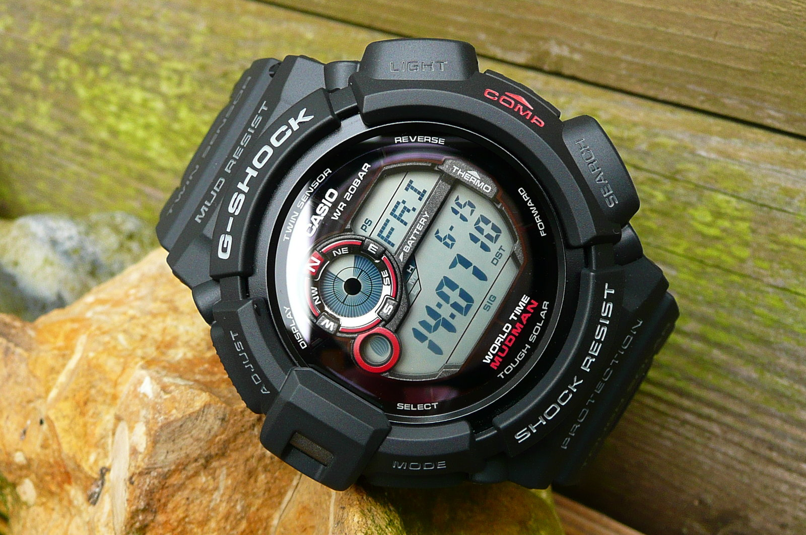 reserviert casio uhr g 9300 1er g shock mudman solar. Black Bedroom Furniture Sets. Home Design Ideas