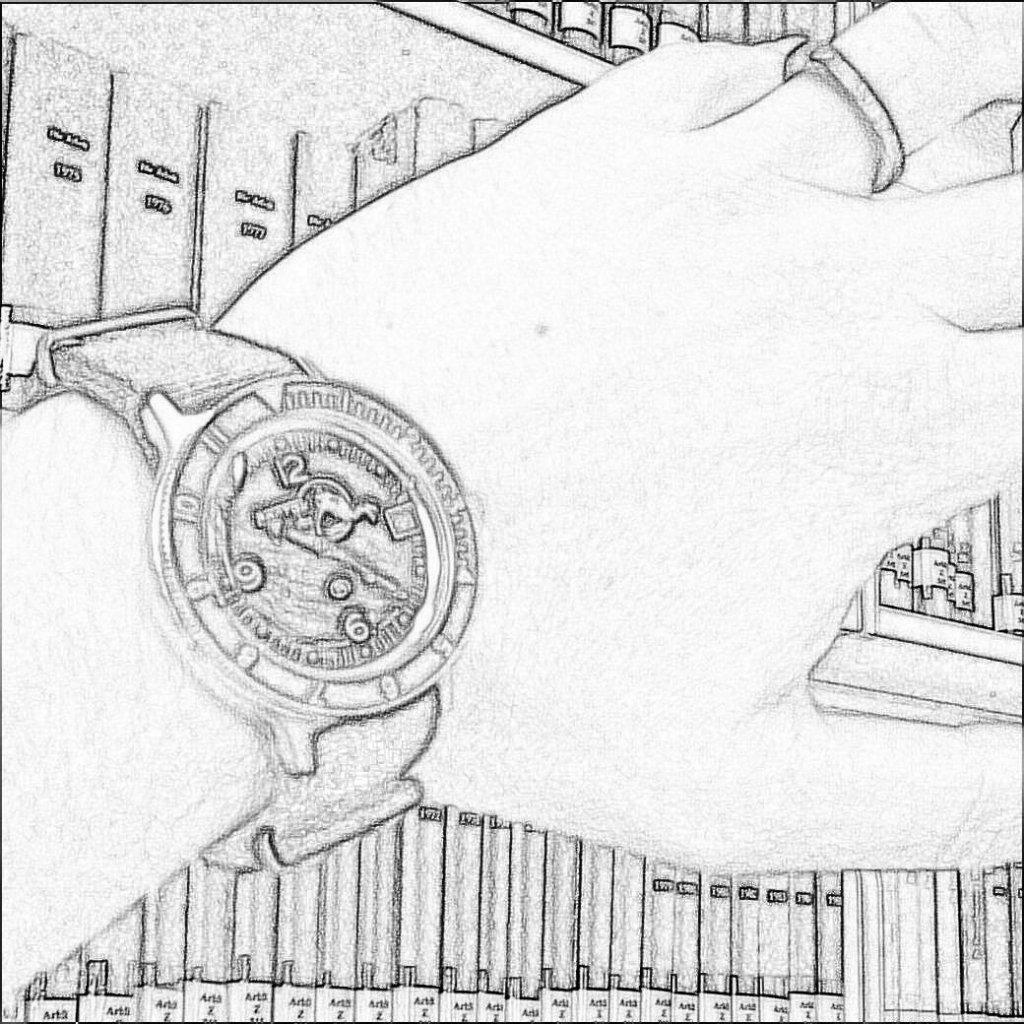 Armbanduhr gezeichnet  Welche Uhr tragt Ihr heute? (Teil 7) - UhrForum - Seite 21
