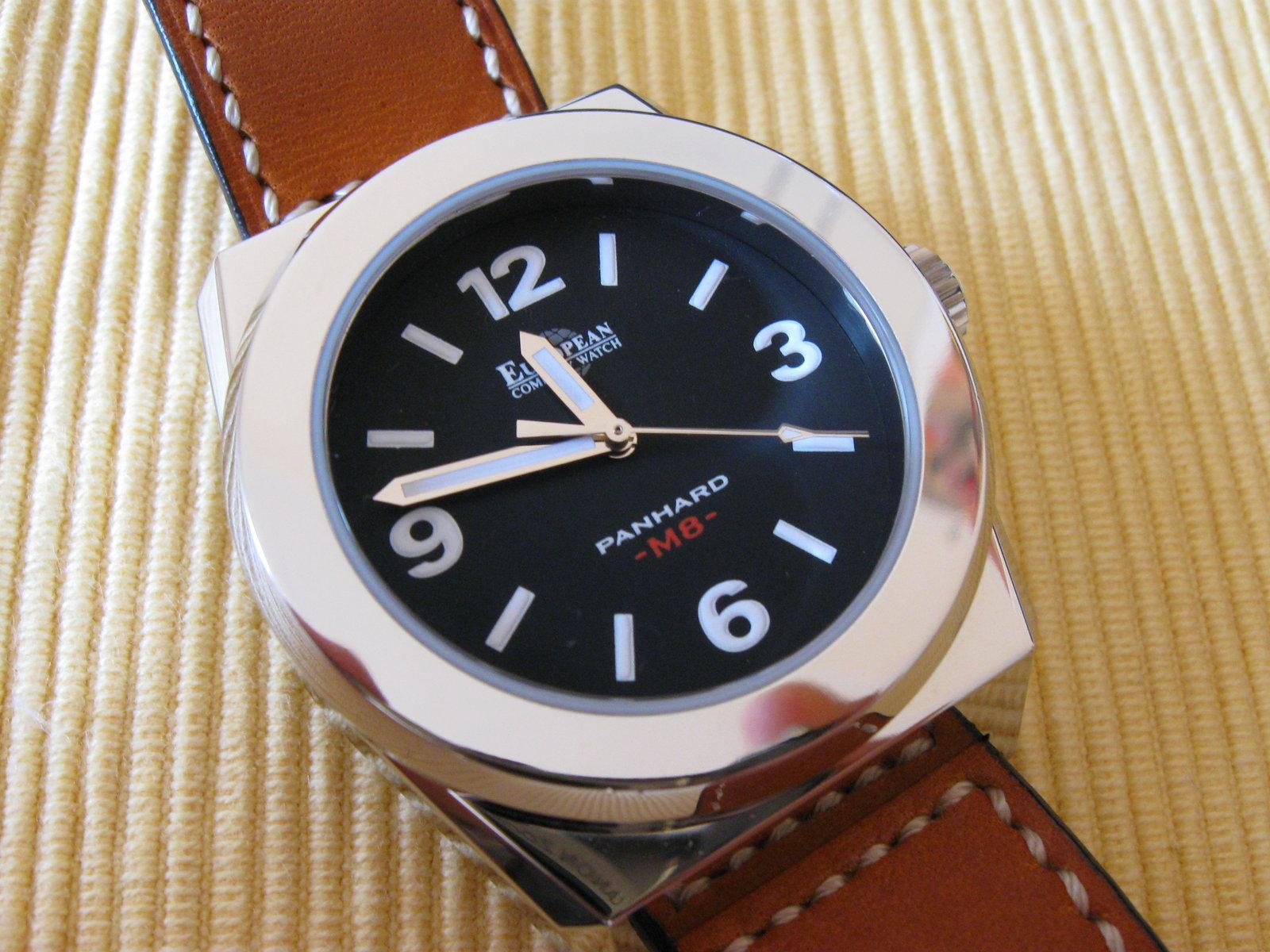 Erledigt Neuwertige European Company Watch Panhard M8