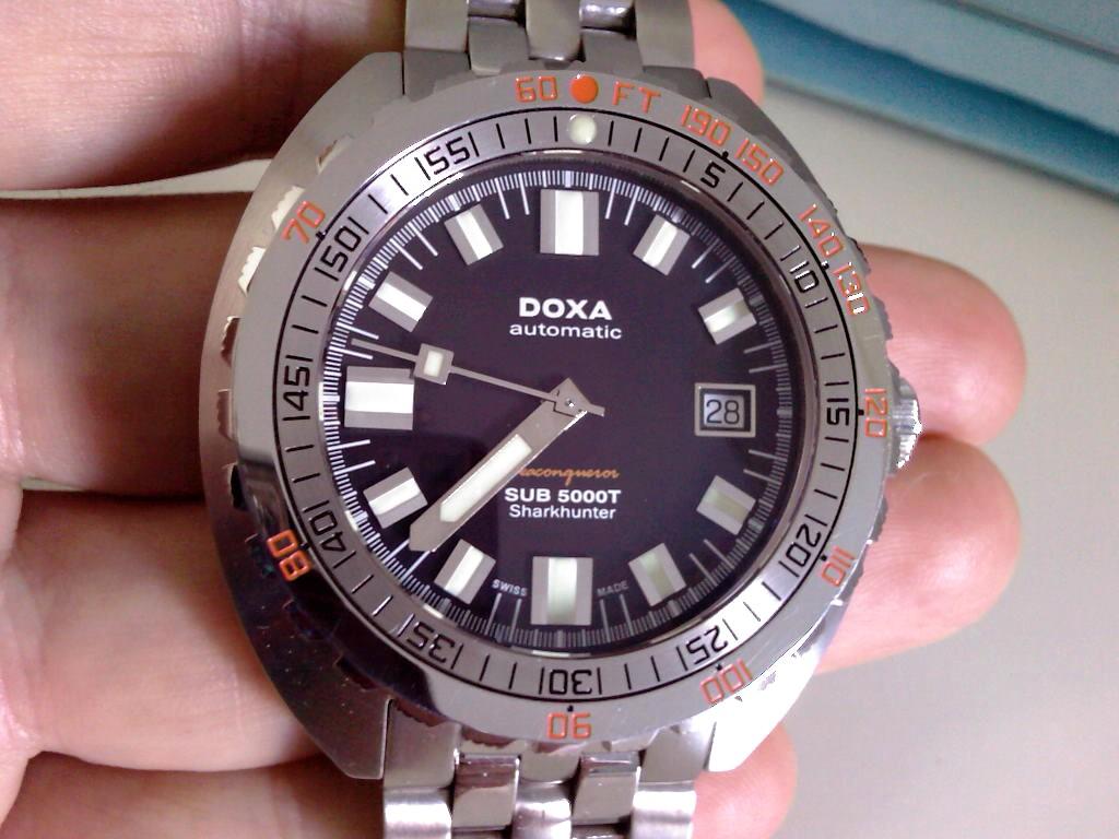 Verkauf Tausch Doxa Sub 5000t Sharkhunter Uhrforum