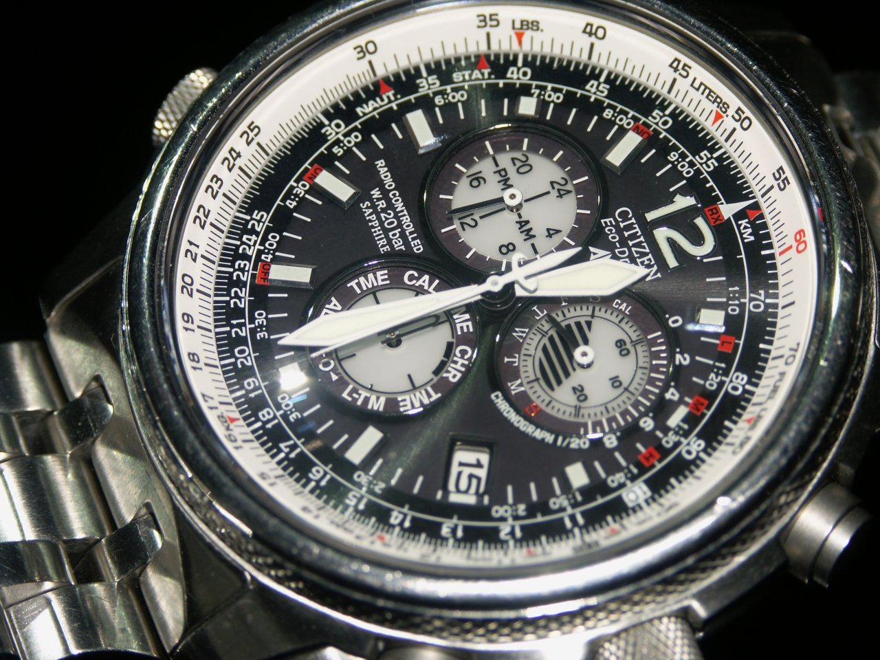 Reset my tcm radio controlled watch : Great india place