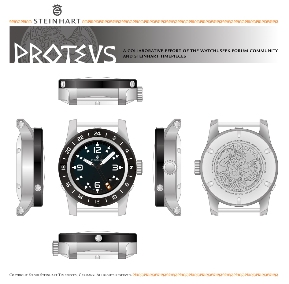 Steinhart Proteus on UhrForum.de