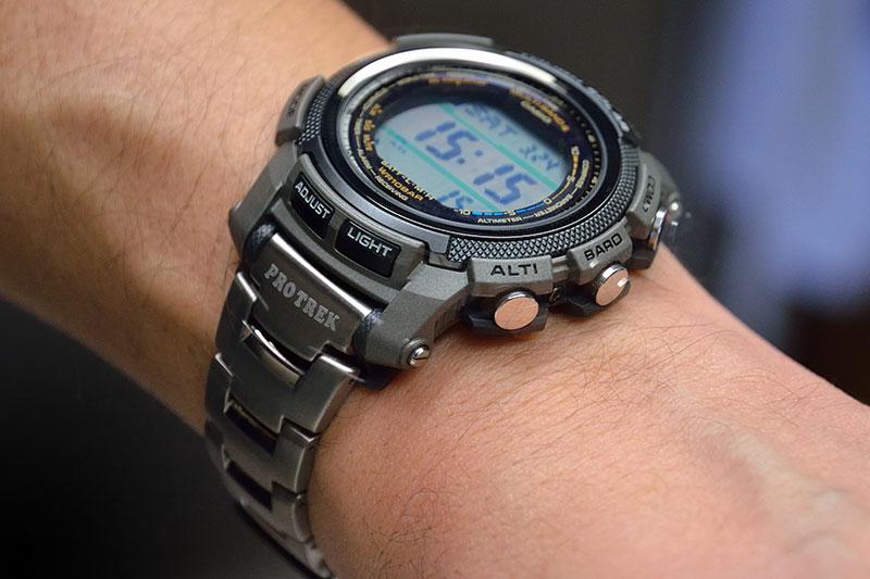 Часы Casio PRW-2000T-7E купить в интернет-магазине Russian