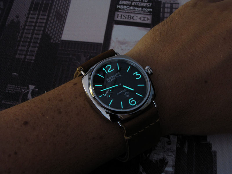 panerai radiomir black seal logo pam 380 uhrforum