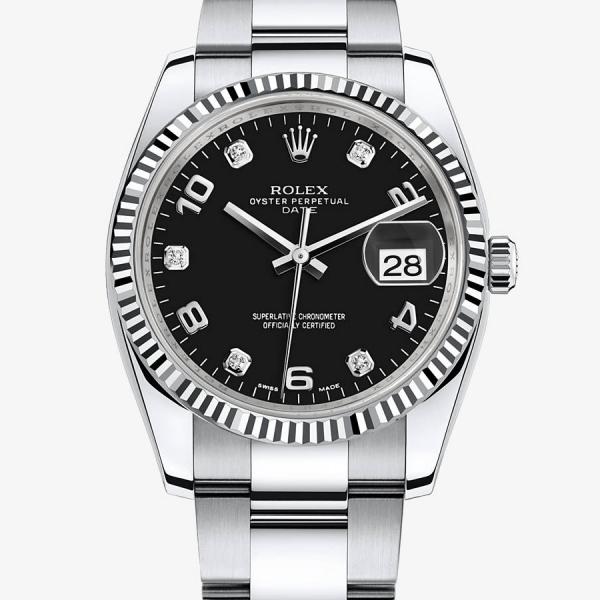 Damenuhren rolex schwarz  Kaufberatung Damenuhr, Rolex Date/-Just Stahl - UhrForum