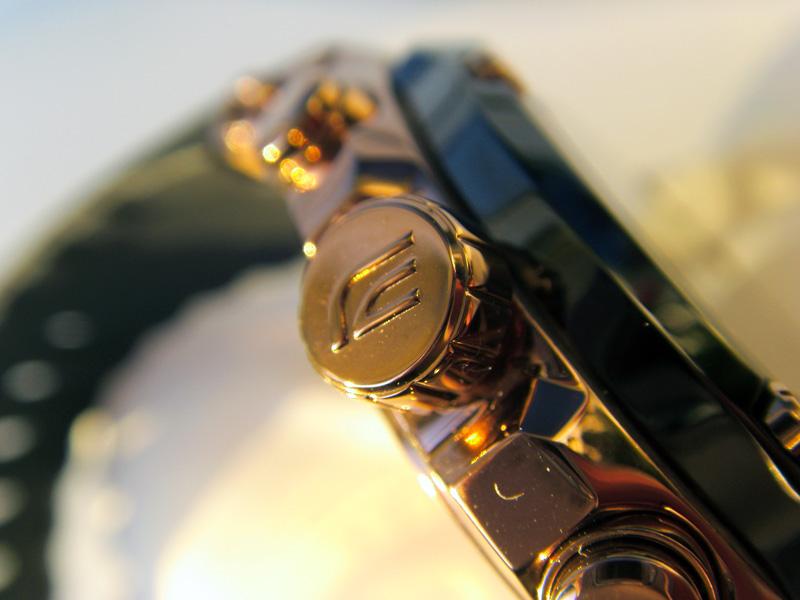 It is a graphic of Insane Casio Edifice Gold Label Efx 510p