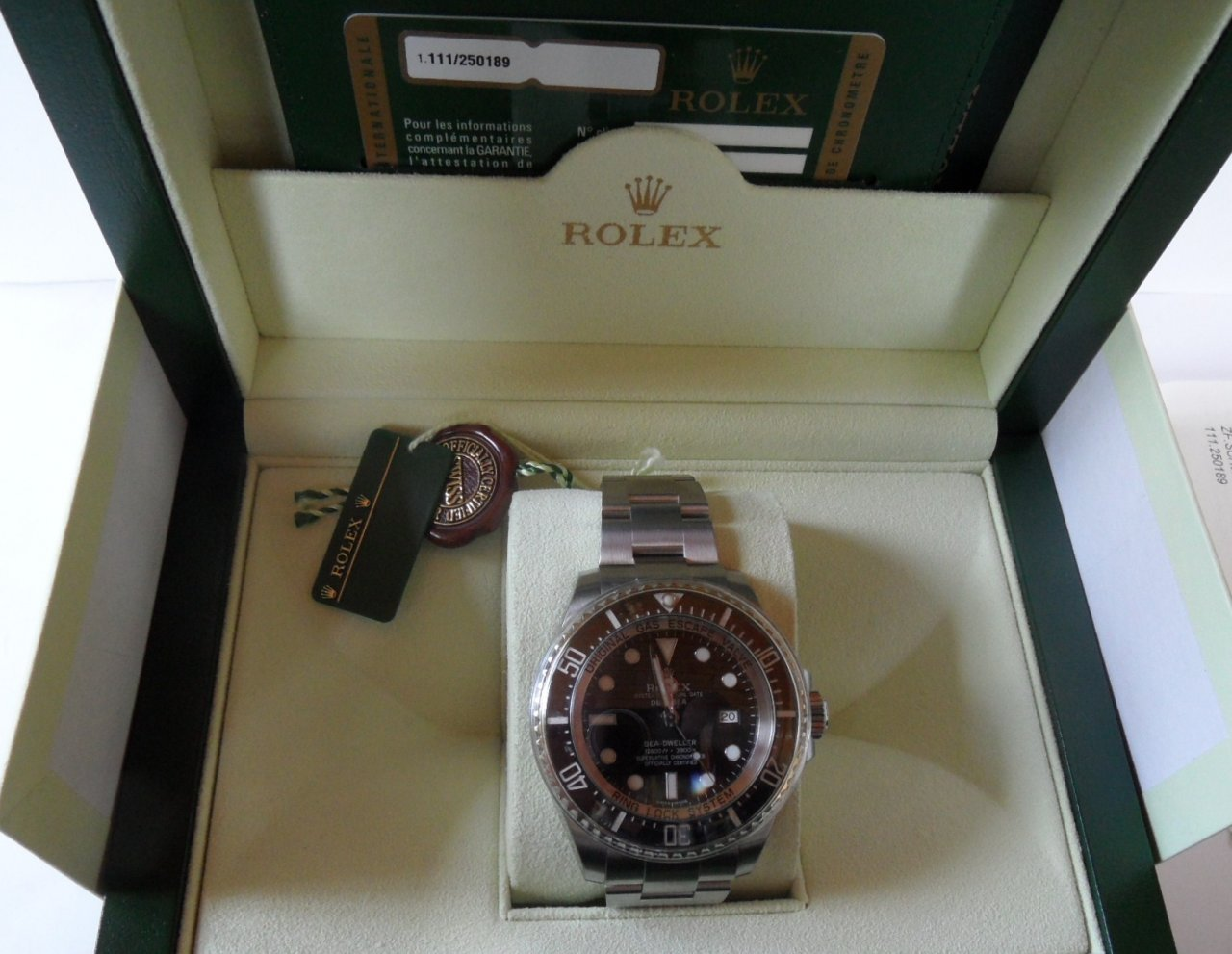 Antiquorum Rolex Deep Sea 362 OK