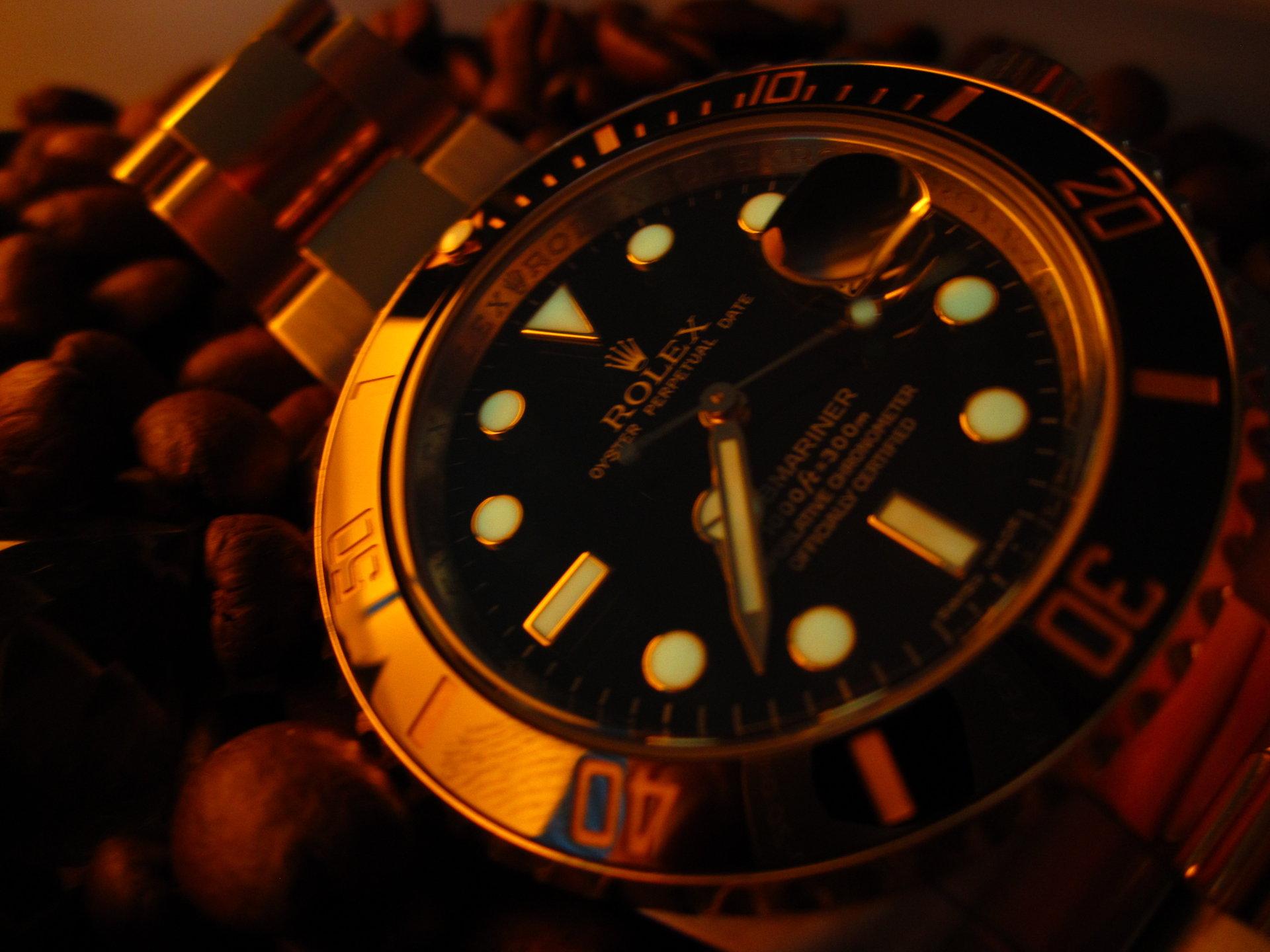 Rolex Submariner Im Dunkeln