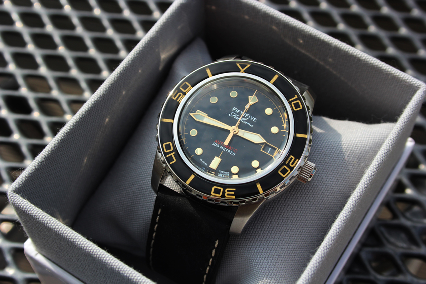 Reserviert Seiko 5 Automatic Snzh57 Mit Fifty Five
