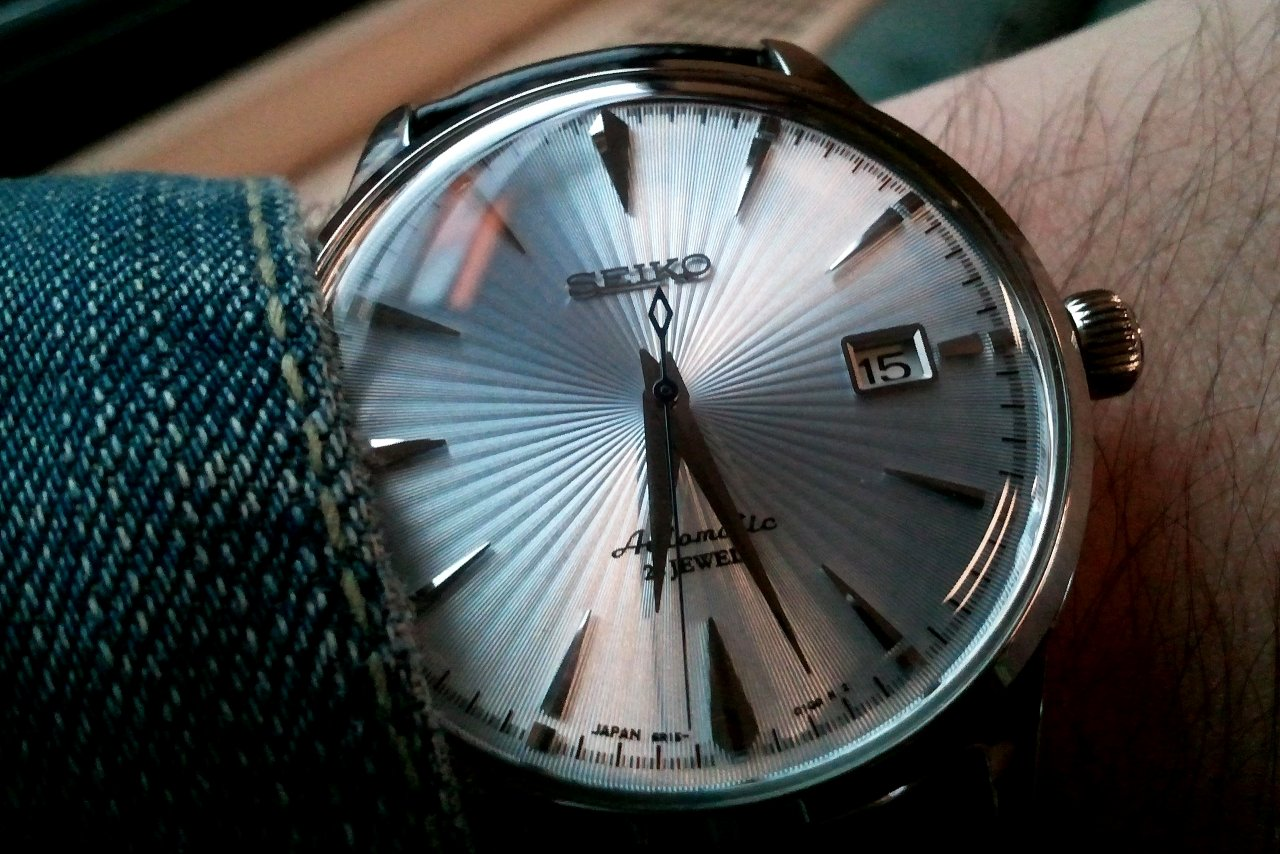 Seiko cocktail design watch for men