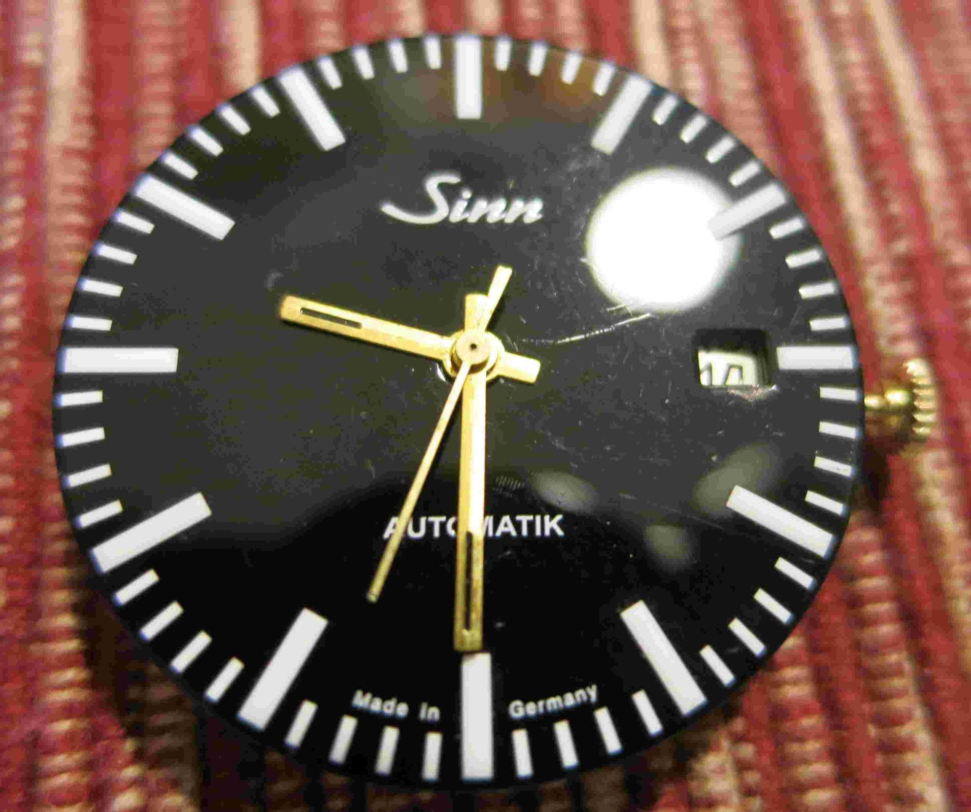 Val 7750 Datumsring für Fenster bei 3 Uhr schwarz
