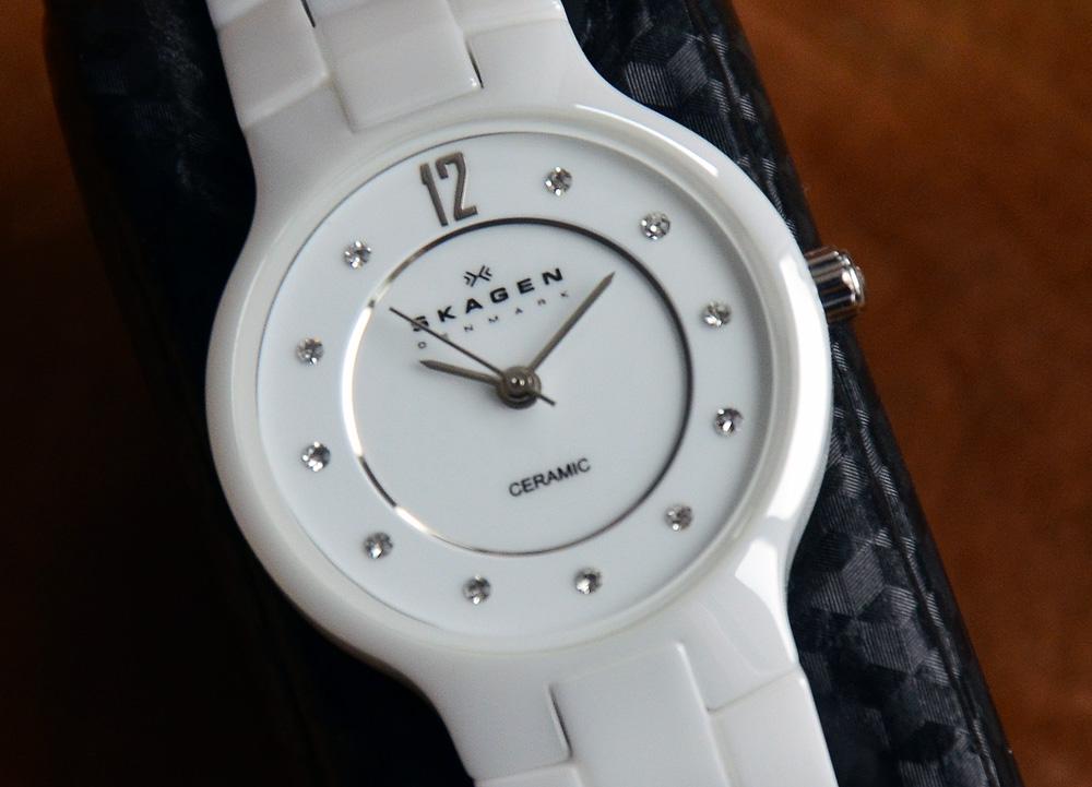 [Verkauf] Skagen Ceramic Damenuhr 572SSXWC, weiss  UhrForum