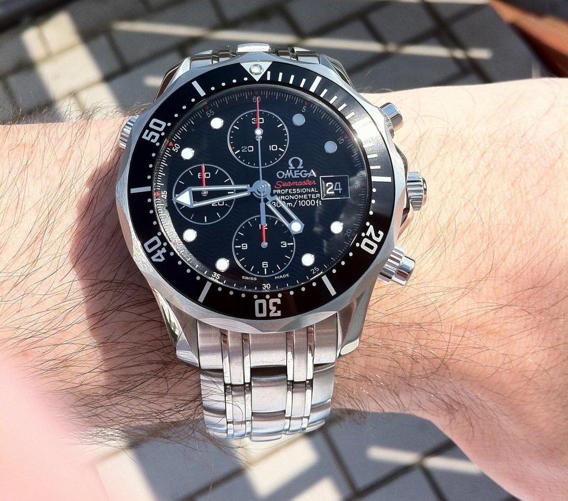 af8c8677d0b9 Modell Seamaster Diver 300 M Chronograph