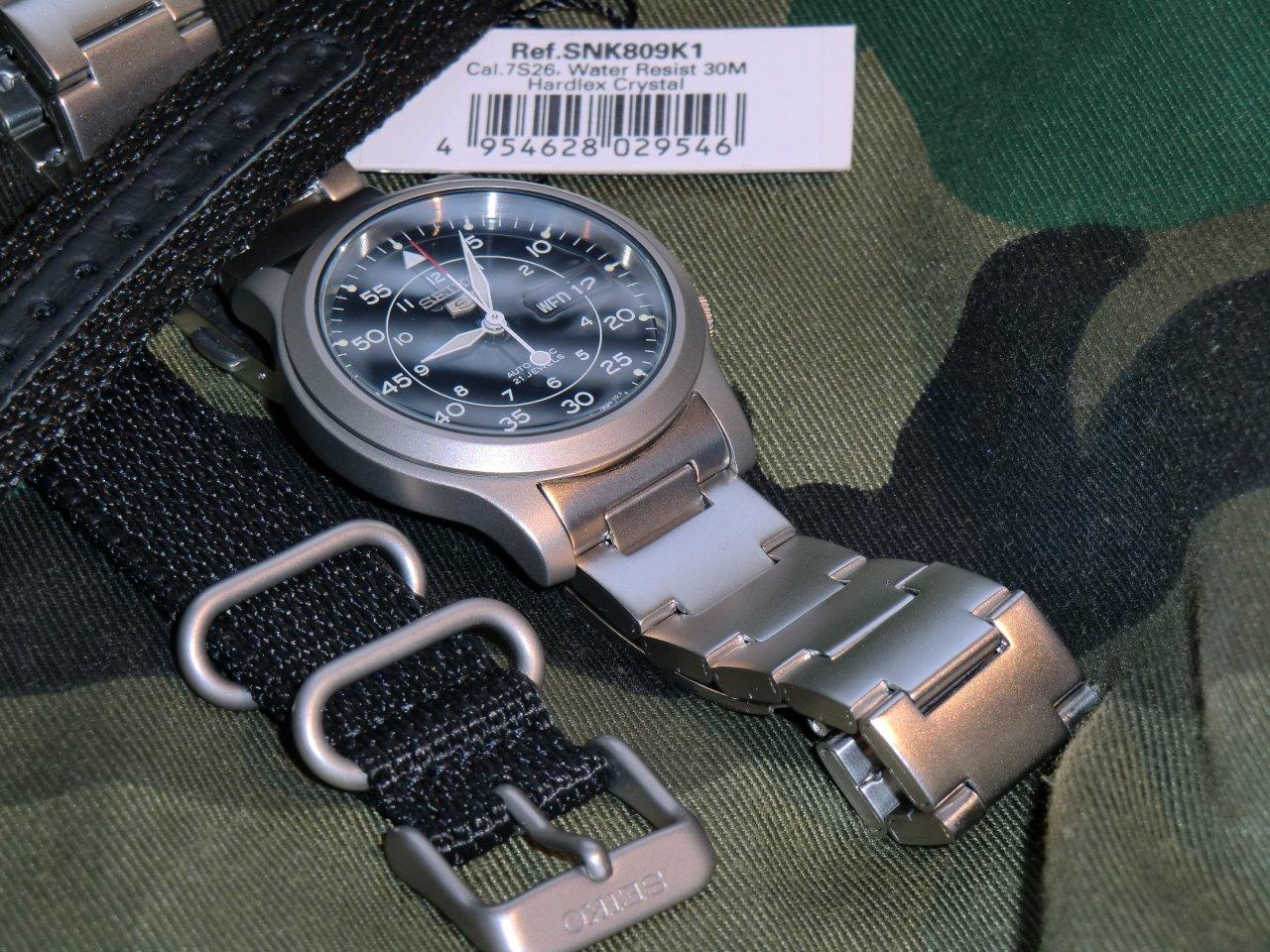 Reserviert Seiko 5 Snk809 K1 K2 Die Kleine Military