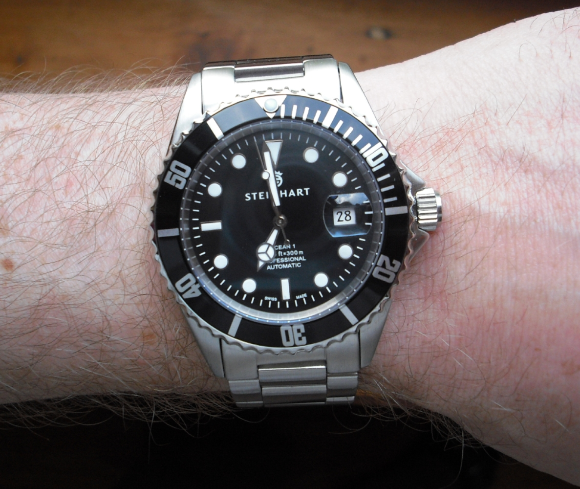 Steinhart Ocean 1 Black Uhrforum