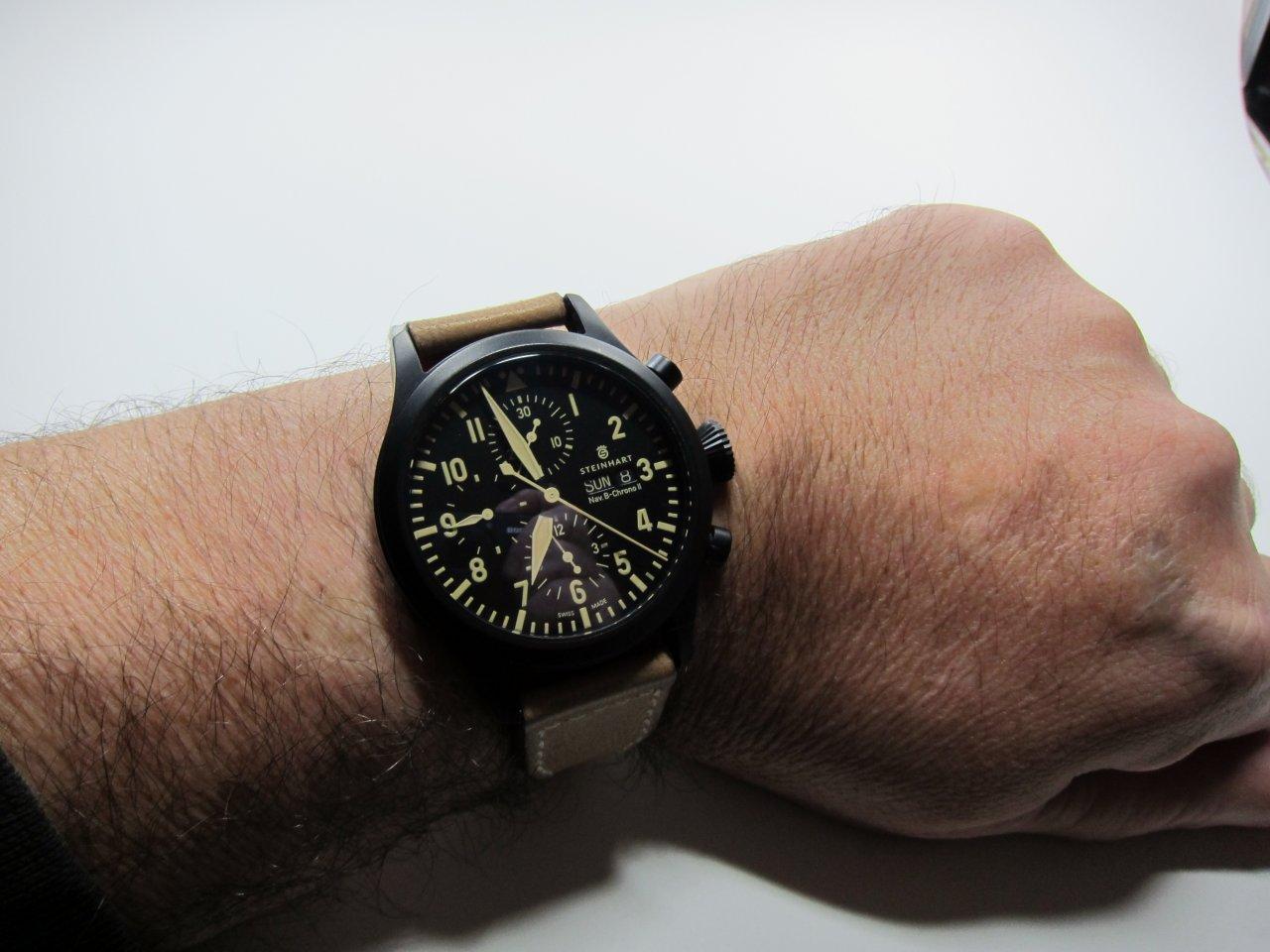 Erledigt Steinhart Nav B Chrono Ii Black Dlc Uhrforum