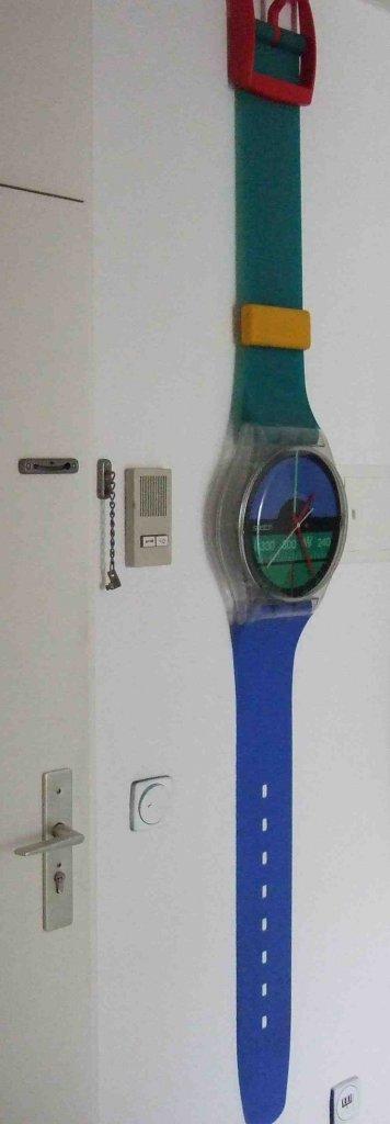 uhren wohnzimmer funk:Seltenheit? Wohnzimmer Uhr mit ein bischen Design inkl. Funk, Solar